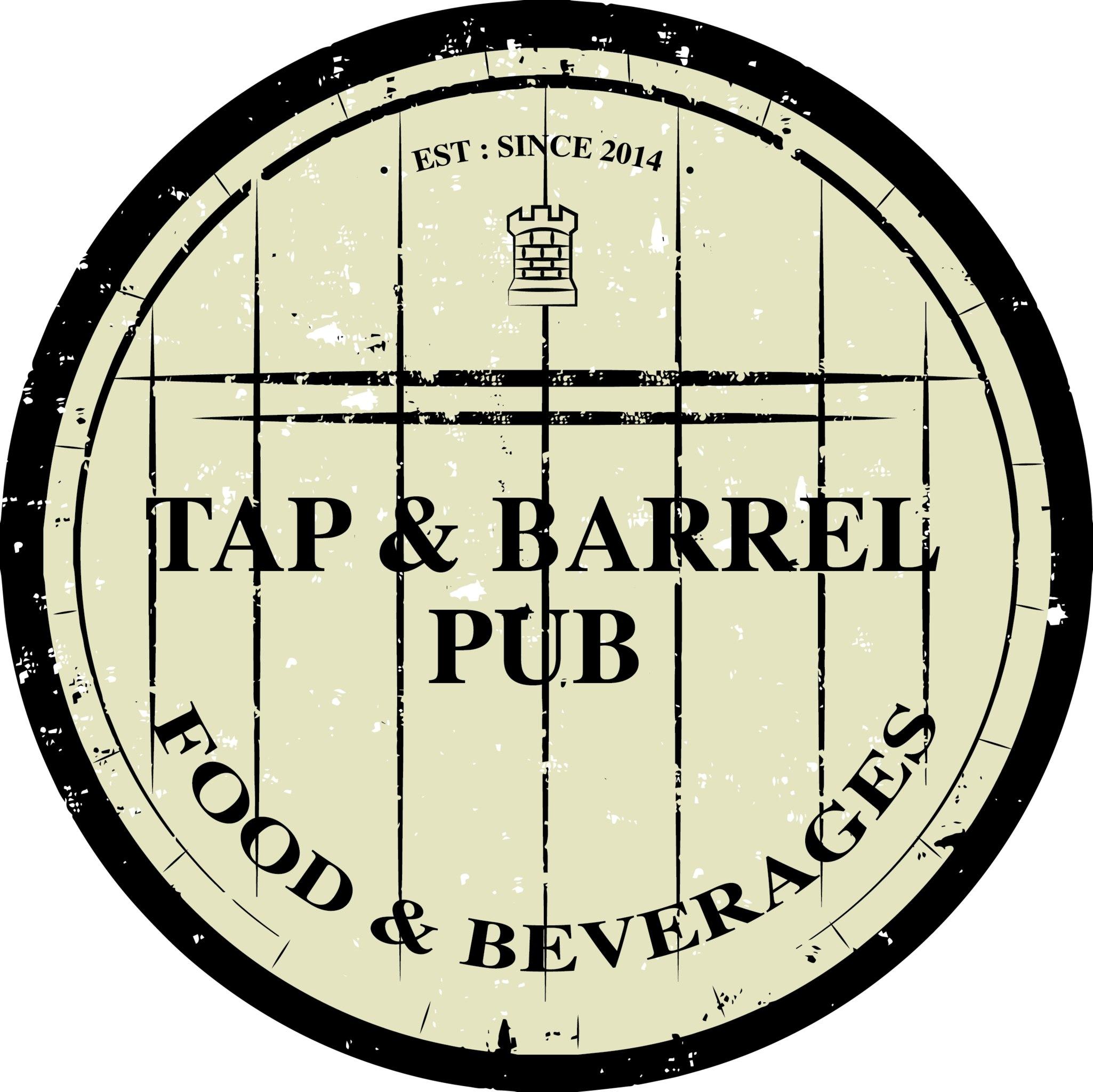 Логотип площадки Tap and Barrel