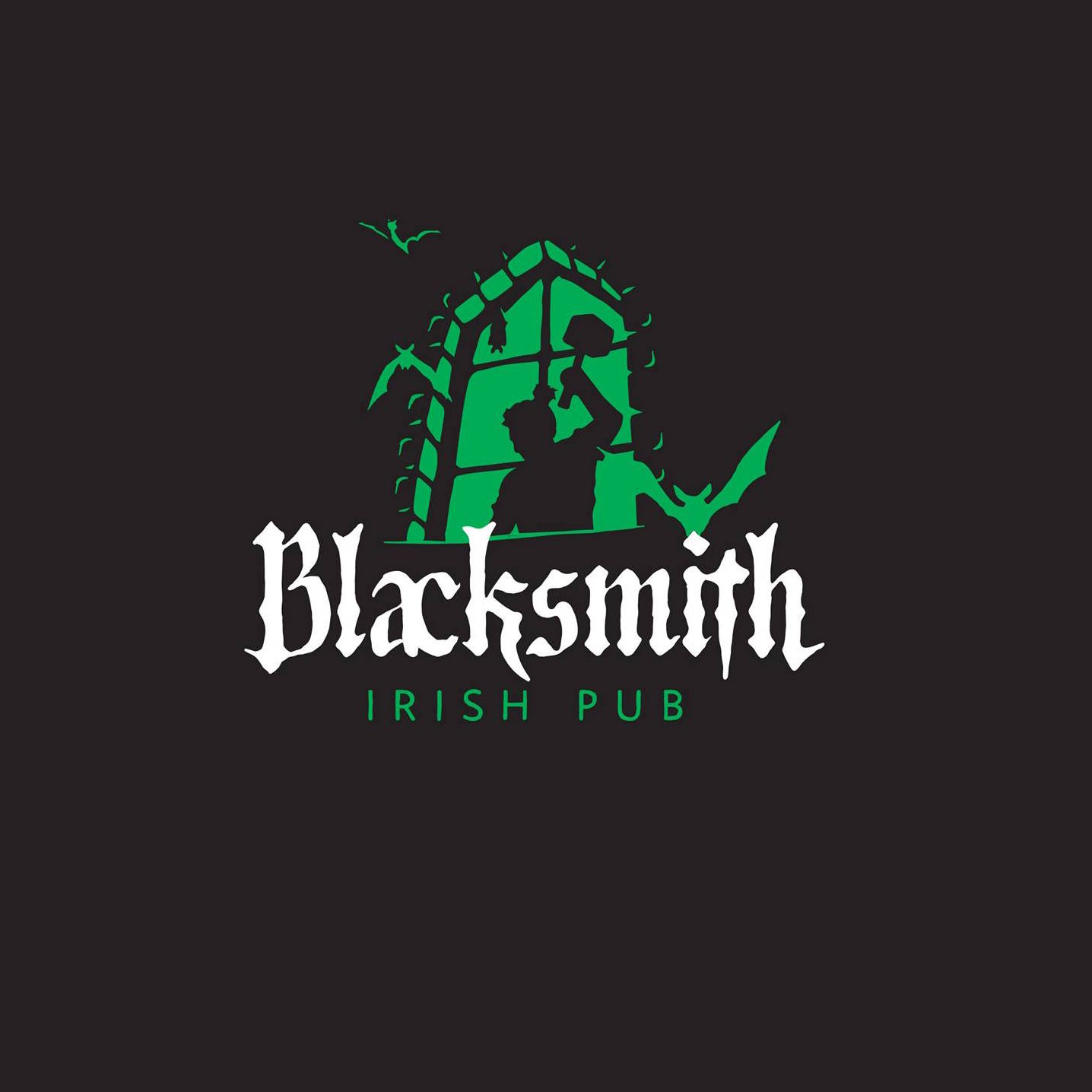 Логотип площадки BlackSmith Irish Pub