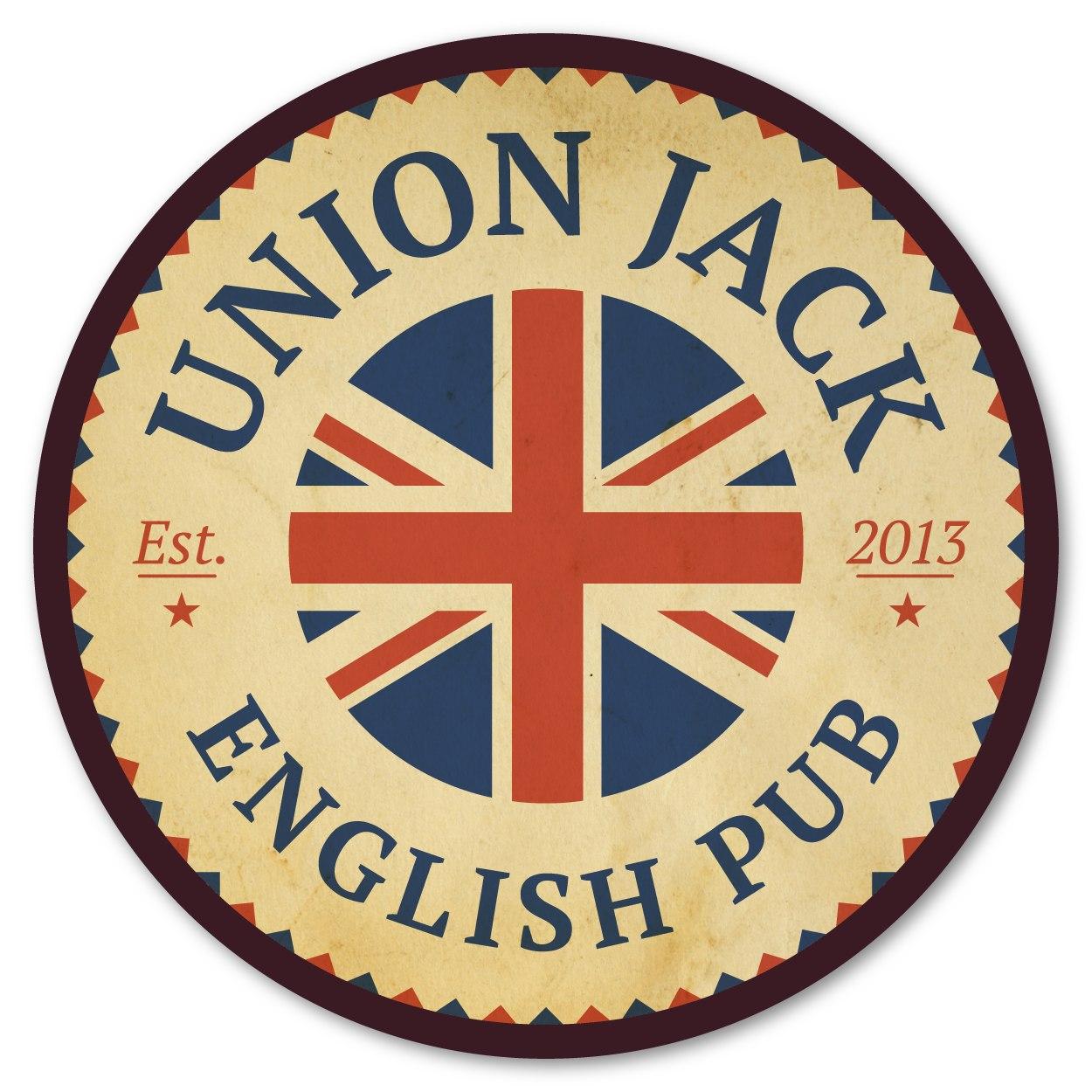 Логотип площадки Union Jack Pub